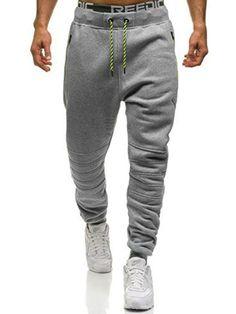 Mens Heart Love Hockey Sport Cotton Jogger Pants,Gym Beam Trousers