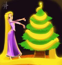Merry Christmas Rapunzel!