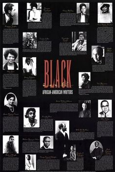 Black Ink: African American Writers