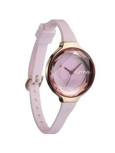 Pink Orchard Gem Mini Watch