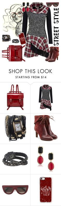 """""""OOTD"""" by petalp ❤ liked on Polyvore featuring The Cambridge Satchel Company, Joe Browns, Chloé, Leatherock, 1st & Gorgeous by Carolee, CÉLINE, Casetify and dress"""