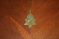 Handmade ceramic green christmas tree decoration £6.00