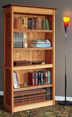 Hidden Compartment Bookshelf Plans - Furniture Plans and Projects - Woodwork, Woodworking, Woodworking Plans, Woodworking Projects Small Woodworking Projects, Woodworking Joints, Woodworking Furniture, Diy Wood Projects, Furniture Projects, Furniture Plans, Woodworking Crafts, Diy Furniture, Woodworking Plans