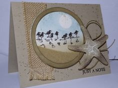 Picture Perfect Wetlands Shaker card by jo1171 - Cards and Paper Crafts at Splitcoaststampers