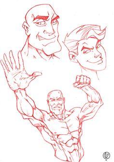 Study boy man. Style cartoon and comics.   Illustration: Leandro Sans Site: http://leandrosans.flavors.me Instagram: @leadro_sans