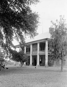 Chretien Point Plantation Mansion, Sunset Louisiana Pictures 1