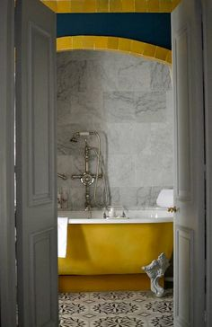 Double door space saver 22 exempel på ovanligt vackert kakel till badrummet - Sköna hem