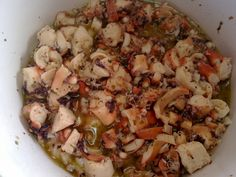 1201201310234 Octopus, Potato Salad, Cauliflower, Seafood, Food Porn, Appetizers, Potatoes, Snacks, Meat