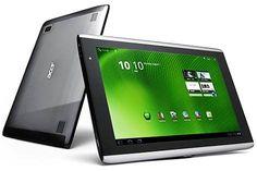 Alguns podem achá-lo parecido com o Xoom da Motorola, mas a Acer procurou com este modelo ir além do design e caprichar no desempenho e na experiência do usuário: o tablet conta com o Android 3.2, moldado justamente para aparelhos com telas muito grandes. O aparelho, de 10.1 polegadas, é uma opção muito boa, e não custa tão caro quanto a maioria dos concorrentes.