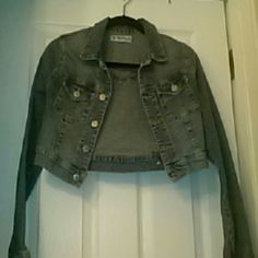 Half jeans jacket Goes with everything!!! Jackets & Coats