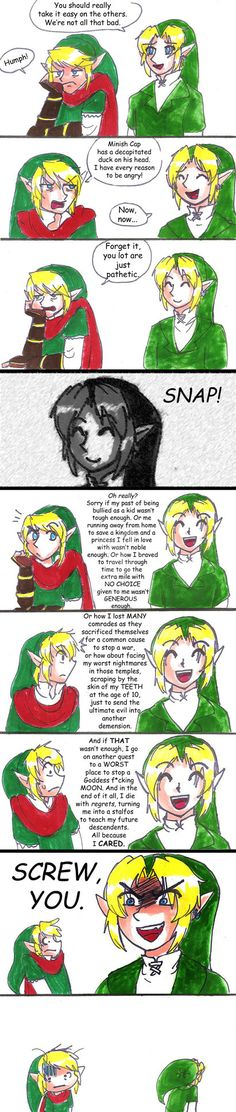 Past Hero Link is Disappoint Part 9 by hopelessromantic721 on DeviantArt