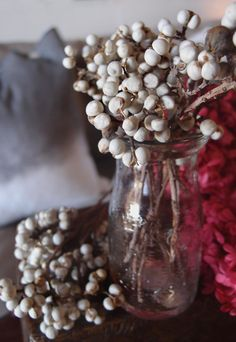 LOVE Preserved Texas Tallow Berries (20 stems); $12