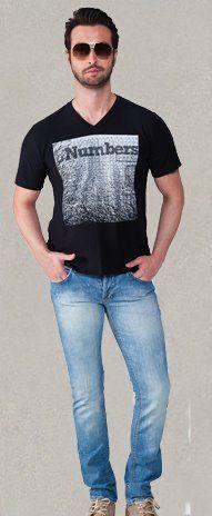 Camisa de malha gola V em malha flame. Obs Moda Masculina · Vitrine das  Lojas 015428d7400