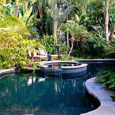 Tropical Plants Retreat - Sunset.com