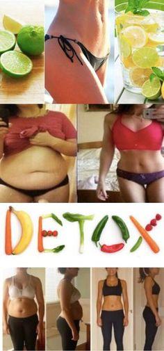 As 17 Receitas Detox Para Secar 10 kg em 4 Semanas #detox #emagrecer #perderpeso #perder10kilos #reeeducacaoalimentar #dieta