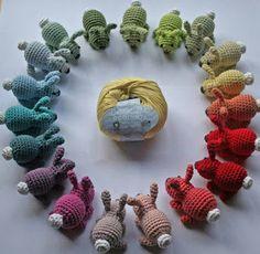 Mesmerizing Crochet an Amigurumi Rabbit Ideas. Lovely Crochet an Amigurumi Rabbit Ideas. Crochet Bunny Pattern, Crochet Rabbit, Crochet Bear, Crochet Toys Patterns, Cute Crochet, Crochet Designs, Stuffed Toys Patterns, Crochet Crafts, Crochet Dolls