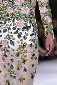 #Giambattista Valli Couture Fall 2014 #Details