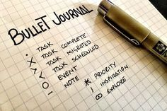 You may have seen the terms 'bullet journal' or even floating around lately. Bullet journaling is a hugely popular method of organising, documenting and reflecting… Bullet Journal Hacks, My Journal, Bullet Journals, Journal Ideas, Journal Diary, Bujo, Odyssey Online, Agenda Organization, Writing Goals