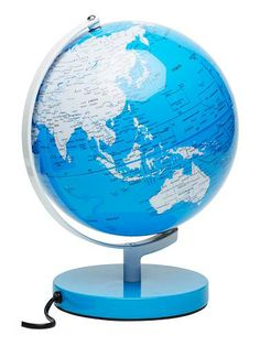 Exclusive to seed world globe lamps.25cm globe diameter.Lights up any child's room with a warm glow.Light bulb is not included in globe.