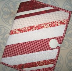 Quilted Notebook Cover Tutorial