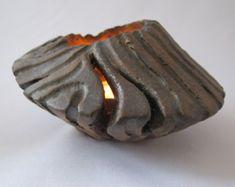 Votive Kerze Halter Keramik Laterne Tee Licht von EarthXFire