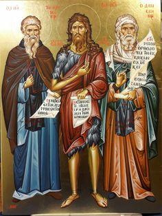 Faith Of Our Fathers, Byzantine Icons, Orthodox Christianity, John The Baptist, Orthodox Icons, Religious Art, Ikon, Catholic, Saints