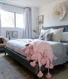 Cream/Ivory Juju Hat in a beautiful bedroom setting Cozy Bedroom, Bedroom Inspo, Master Bedroom, Bedroom Decor, Juju Hat, Bedroom Styles, First Home, Blanket, Interior Design