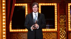"2014 Tony Awards Show - Brian Ronan accepts the award for best sound design of a musical for the Carole King musical ""Beautiful."""