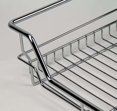 Pull-Out++Wire+Drawer+-++800mm+Module+-+++Basket+695mm(W)x140mm(H)+-+++Chrome+Finish