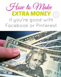 Are you good with Pinterest or Facebook? Then you can make at least $500 per month as a virtual assistant to bloggers. Find out how you can make extra cash helping bloggers out.