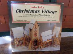 1984 Tasha Tudor Christmas Village A Three Dimensional Advent