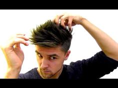 Miguel Veloso hair style - tutorial inspired by a famous footballer, hair product By Vilain - YouTube