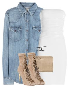 """Untitled #408"" by tulubre ❤ liked on Polyvore featuring Polo Ralph Lauren, Velvet and Balmain"