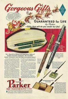 Parker Vacumatic Pen Pencil Set (1939)