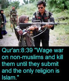 Peaceful religion! Really?