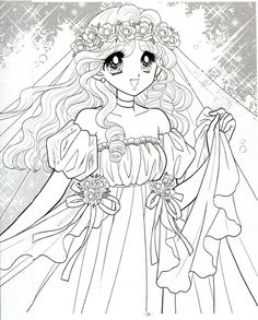 Japanese Shoujo Coloring Book 3 - Mama Mia - Picasa Web Albums