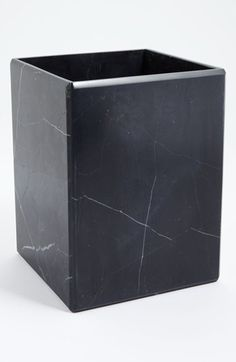 Waterworks Studio 'Luna' Black Marble Wastebasket (Online Only) available at #Nordstrom