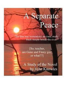 a separate peace denial of truth A separate peace study guide contains a biography of john  both gene and  finny experience a great deal of denial in the novel, but of different types   injures his best friend and then tries to cover up the truth would be.