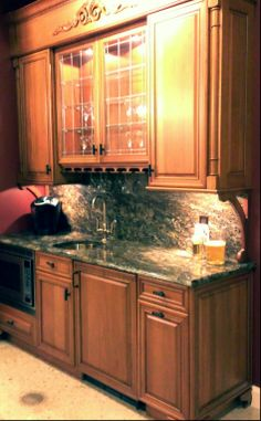 custom kitchen cabinetry with granite countertops backsplash kenwood kitchens in columbia maryland - Maryland Kitchen Cabinets