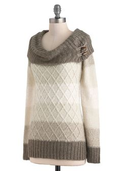Jen's Tender Love and Wear Sweater in Natural, #ModCloth $59.99