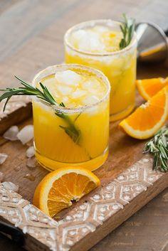 Orange Rosemary Margarita