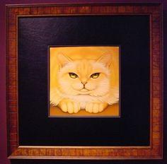 Orange Tabby, by Braldt Bralds original oil painting