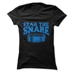 (Tshirt Coupons) Fear The Snare T-Shirt [TShirt 2016] Hoodies, Funny Tee Shirts