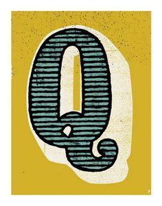 Q #type #typography