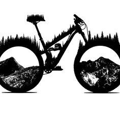 New dirt bike quotes motocross awesome Ideas Bicycle Tattoo, Bike Tattoos, Bicycle Art, Bicycle Design, Dirt Bike Tattoo, Tatuaje Rick And Morty, Mountain Biking, Bike Logo, Bike Stickers