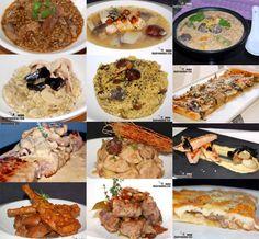 Doce recetas con setas (I)