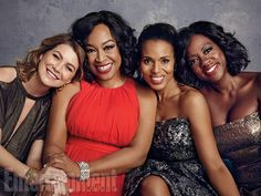 10 Stunning Portraits from EW's Shondaland Shoot | Ellen Pompeo, Shonda Rhimes, Kerry Washington, and Viola Davis | EW.com