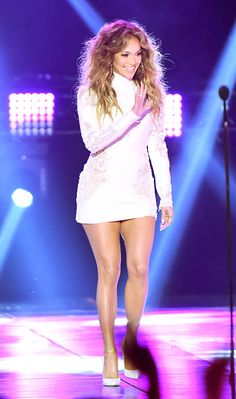 Entertainer Jennifer Lopez speaks onstage during Nickelodeon's 28th Annual Kids' Choice Awards held at The Forum on March 28, 2015 in Inglewood, California.
