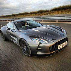 Aston Martin One-77 my favourite!