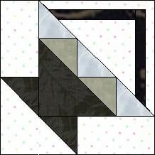 Block of Day for June 11, 2016 - On Point Triangle Basket-foundation/paper piecing-The pattern may be downloaded until: Thursday, June 30, 2016.